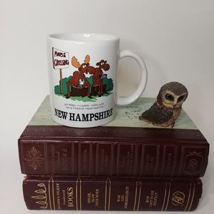 Other - Funny Souvenir Mug New Hampshire Moose Chipped